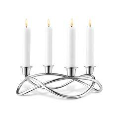 Discover the Georg Jensen Season Candle Holder - Mirror at Amara