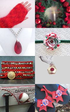2203 - Holiday Reds by Shelley on Etsy--Pinned with TreasuryPin.com