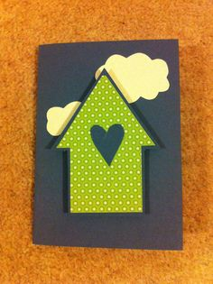 New home card handmade