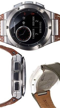 HP's MB Chronowing smartwatch.