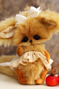 Artist teddy fox Briar by zuzutoys on Etsy