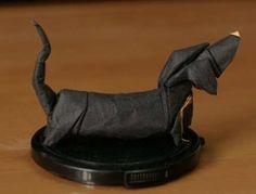 Animal - Origami Dachshund
