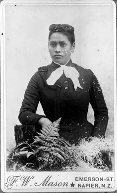 Meri Te Tai Mangakahia.  In 1893 Meri addressed the Maori parliament to ask that Maori women be allowed to vote for and become members of that body.