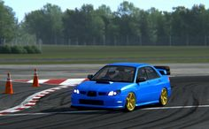 Assetto Corsa - Subaru Impreza S204 - Top Gear