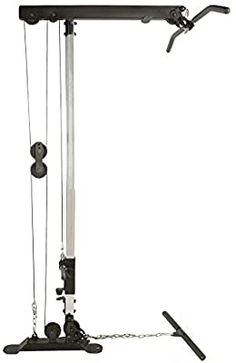 Fitness Reality X-Class Light Commercial Olympic LAT Pull Down & Low Row Cable Attachment Gym Workouts, At Home Workouts, No Equipment Workout, Fitness Equipment, Diy Home Gym, Biceps And Triceps, Garage Gym, My Gym, Workout Machines
