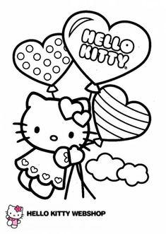 Kleurplaten Van Hello Kitty Verjaardag.16 Beste Afbeeldingen Van Kleurplaten Kleurplaten Hello