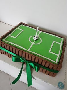 Football Birthday Cake, Soccer Birthday Parties, Sports Birthday, Soccer Party, Birthday Party Themes, Harry Birthday, 8th Birthday, Soccer Decor, Sports Themed Cakes