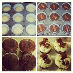 Dari Dapur Azita Zain Resepi Dan Tips Cheese Tart All Twix Cupcakes Yes Mom