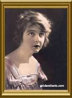 Enid Bennett, Silent  and sound movie star.  1893-1969