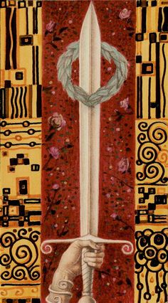 L'as d'épées - Tarot de Klimt par A. Atanassov