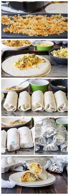 Easy Breakfast Burritos Recipe