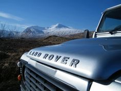 We trust that you had a very enjoyable weekend...! Just to keep you in the mood, have a look at this great photo of the Land Rover Experience Scotland Defender at Glencoe.