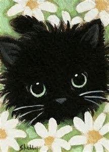 Image result for Easy Canvas Art Cat #catdiy