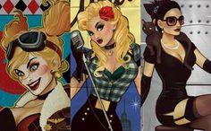 """Pin-up é um estilo de fotografia e ilustração que coloca modelos e atrizes em situações casuais ou inusitadas mas utilizando-se de um """"erotismo comportado"""". O estilo surgiu em 1910, mas foi na década de 40 que os cartazes fizeram sucesso e consolidaram-se como ícone da cultura pop. A artista Ant Lucia é, declaradamente, uma grande …"""