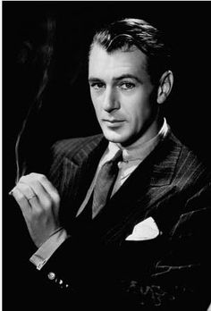 Gary Cooper - one of THE Hollywood actors back in the day