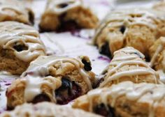 hanna's vegan kitchen: lemon blueberry scones