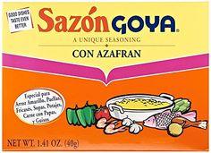 Goya Sazon Con Azafran, 1.4 oz Goya…