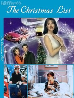"Seriously, my favorite ABC Family Christmas movie!!!  THE CHRISTMAS LIST  -w/ Mimi Rogers......a Christmas MUST SEE...You can see it on ""You Tube""  type in search bar =The Christmas List 1997 11/22/15:Bought it on Bonanza!!     *****On Hallmark Channel Nov.30th at 6:00pm.-according to Direct TV!-2016"