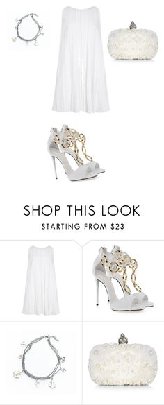 """Untitled #903"" by ioan-jeni ❤ liked on Polyvore featuring beauty, Carolina Herrera, Giuseppe Zanotti and Alexander McQueen"