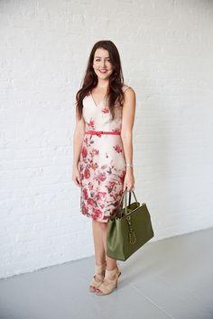 Kate Spade watercolor dress