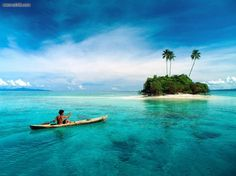 island hopping in the South Pacific