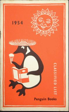 Penguin Books Classified List cover, 1954