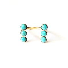 brass jewelry. great stud earrings | Therese Kuempel Jewelry | Chicago, Illinois