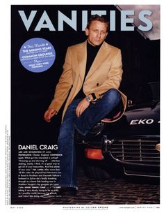 Daniel Craig. Great photograph.