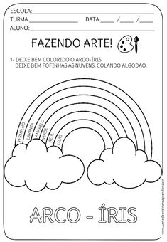 Atividade Pronta - Fazendo arte Graphing Activities, Kindergarten Math Worksheets, Preschool Activities, Art For Kids, Crafts For Kids, Preschool Art Projects, Preschool Coloring Pages, Preschool Writing, Activity Sheets