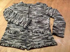 Vest met rits uit boek : 1 meter stof