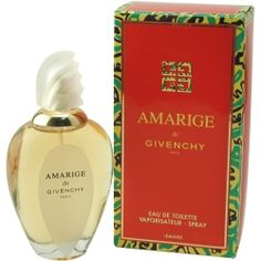 AMARIGE Perfume by Givenchy-Thanks to my beautiful grandmother and her infamous scent drawer, I was able to experience this fragrance.  She would let me wear this perfume to church sometimes, reminding me to dab some on my pulse points. Grandmere, j'adore!...