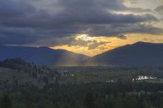And Then There Was Light - Missoula  © Mark Mesenko