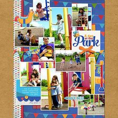 GingerScraps :: Kits :: At the Playground by Clever Monkey Graphics