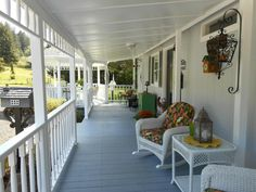 Another country porch