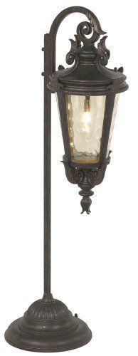Three Tier Pagoda Bronze Low Voltage Path Light by