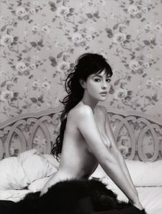 Monica Bellucci, photo par James White