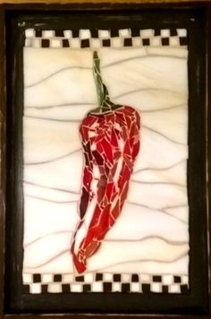 Chili Pepper mosaic is now finished! AVAILABLE