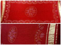 Beautiful Taditional Ras Mandal Bandhej Pattern Dupatta An age old Ras Mandal pattern in the centre of the dupatta gives it the authentic traditional look. Red colors makes it perfect for the auspicious occassions. Small Bandhej dots all over the dupatta and lagdi patto (Broad Zari Border) at ends.  Occasion: Party Wear /casual wear   www.sankalpbandhej.com  For more details call / whatsapp  9377399299  #sankalpthebandhejshoppe #bandhanidupatta #dupatta #tiendye #bandhej