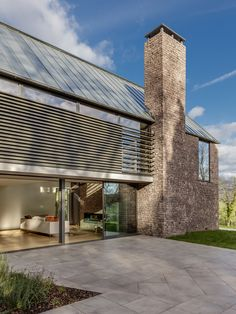 Silver How – Hall + Bednarczyk Architects Roof Design, Exterior Design, Wood Cladding Exterior, Woodland House, Rural House, Property Design, Modern Cottage, Unusual Homes, Modern House Design