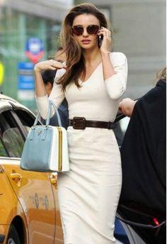 Help me find a similar handbag as Miranda Kerr's Miranda Kerr Style, White Tops, Fashion, Moda, Fashion Styles, Fashion Illustrations, Fashion Models