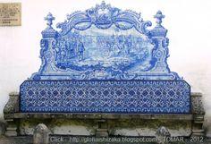 Portugal. Tomar. Capela de São Lourenço - À saída de Tomar, para sul, é capela manuelina do Séc. XVI mandada construir por Aires do Quental para comemorar o ...