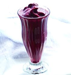 Dark and Frosty Acai Smoothie from kblog.lunchboxbunch.com