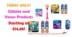 TODAY ONLY! Stocking Stuff Ideas! Gillette and Venus Products starting at $14.85! Don't miss out on these great bundles.  Click the link below to get all of the details ► http://www.thecouponingcouple.com/gillette-and-venus-products/ #Coupons #Couponing #CouponCommunity  Visit us at http://www.thecouponingcouple.com for more great posts!