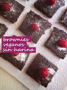 BROWNIES VEGANOS SIN HARINA NI AZUCAR -1 ½ taza de puré de banana (de 3 a 4…