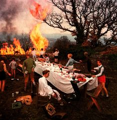 Bernard Faucon - The Banquet, 1978