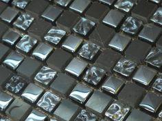 (14,22 €/Stück) Naturstein-Glasmosaik-Fliesen Crystal-Marmor-Mosaik Badezimmer