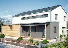 Duo 211 - Einfamilienhaus mit Einliegerwohnung (ELW) / Zweifamilienhaus von Hanse Haus GmbH Vertriebsbüro Dresden | HausXXL