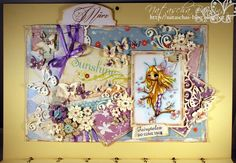 Kalendermärzseite mit Digimotiv und pastelligen Farben. Mehr wie immer auf meinem Blog: http://nataschas-blog.blogspot.de/2015/03/stempel-magie-113.html