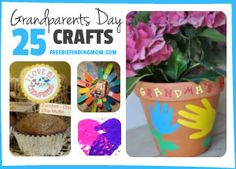 25 Grandparents Day Crafts - Guaranteed to put a smile on their face.