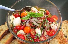 Marinated Cherry Tomatoes with Herbs